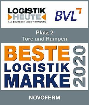 """Logo 2. Preis """"Beste Logistik-Marke"""""""