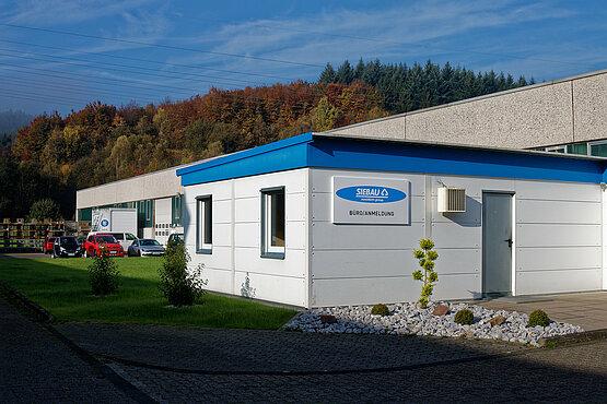 Novoferm Siebau Company building partial view